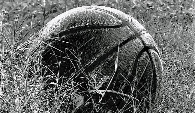 Stara kosarkaska lopta