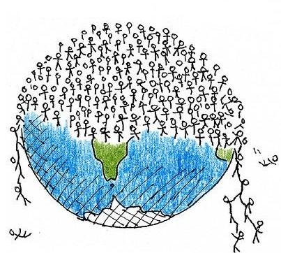 Prenaseljena planeta