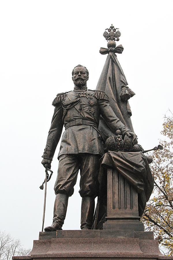 Spomenik ruskom caru Nikolaju II u Beogradu 2