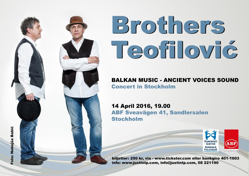 Braca Teofilovic Plakat